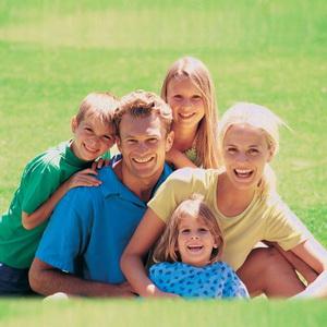Семья 5 человек.
